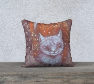 Cat pillow preview