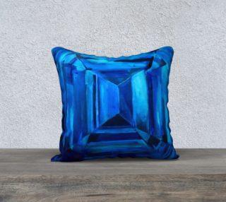 Aperçu de Sapphire Pillow Cover