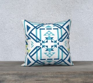 Blue & Green Geometric Design preview