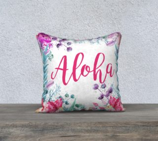 Tropical Aloha Watercolor preview