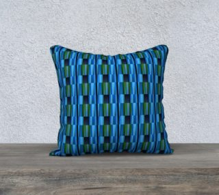 Aperçu de Blue-green texture Pillow Case