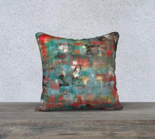 Five Hidden Hearts Pillow preview