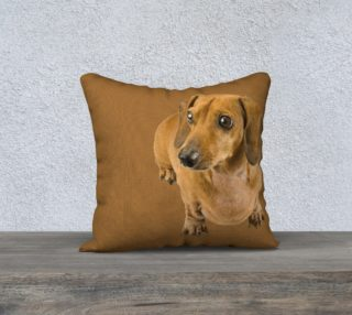 Wiener dog pillow preview