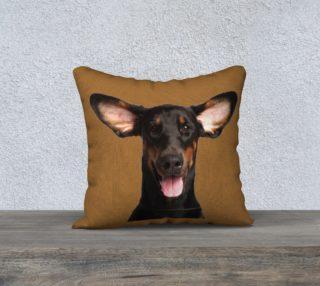Dash hound pillow preview