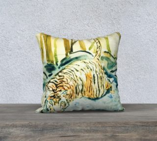 tiger pillow preview