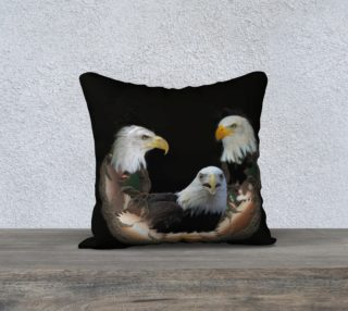 Aperçu de Majestic Eagle Pillow