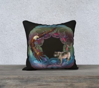 Aperçu de Ode to Nature Pillow