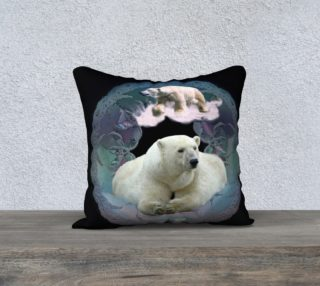 Aperçu de Polar Bear Pillow