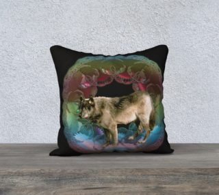 Aperçu de Wolf Pillow