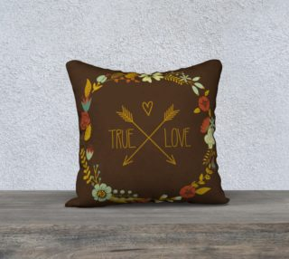 True Love Fall Pillow cover preview