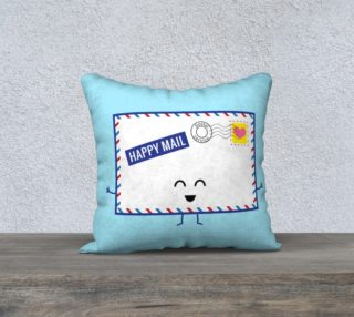 Happy Mail Pillow preview