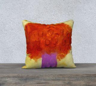Aperçu de Purple Tree pillow case