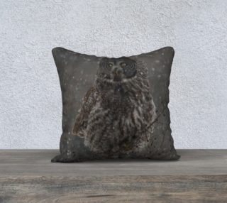 Great Gray Owl Cushion preview