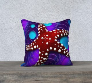 """Star Fish 18""""x18"""" Pillow Case preview"""