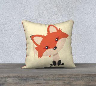 Cute Fox Pillow Cover preview