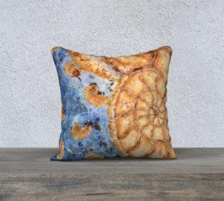 Nautilus Shell Fibonacci Under the Sea 18x18 Pillow preview