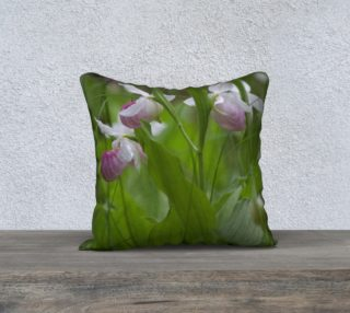 Showy Lady's Slipper Cushion preview