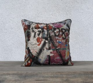 Berlin Wall Detail Cushion preview
