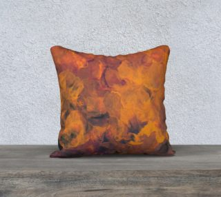 Sunset Flowers Pillow Case Style1 preview