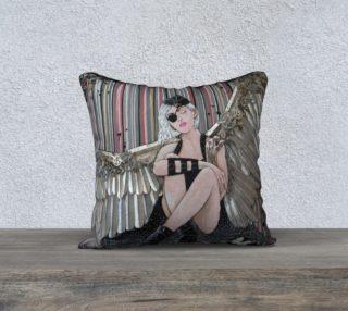 Aperçu de Clockwork Angel 18 x 18 Pillow