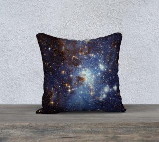Blue Nebula Space Stars preview
