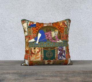 Ballets Russes Tapestry - 18x18 Pillow Case preview