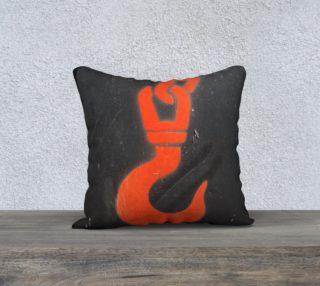 Aperçu de red hook pillow
