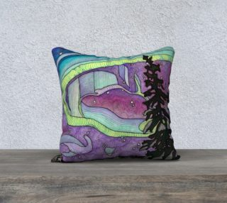 The Northern Lights Pillow preview