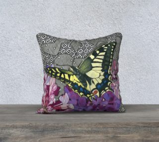 On Golden Wings Pillow preview