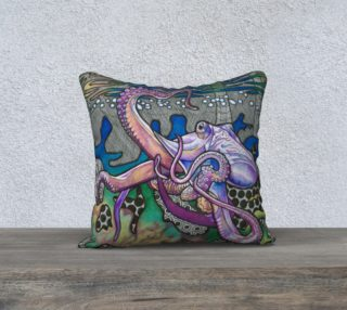 In Emerald Waters Pillow preview