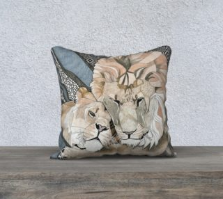 Lioness Pillow preview