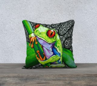 Freddie the Frog Pillow preview