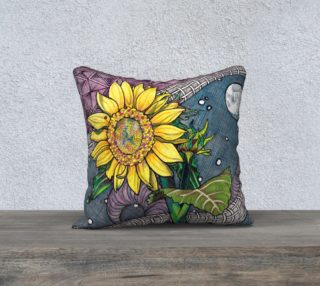 Alone in the Universe Pillow preview