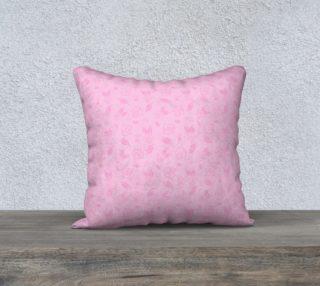 "Cartoon Rose Pillow Case - 18""x18"" preview"