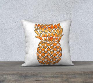 Orange Watercolor Pineapple preview