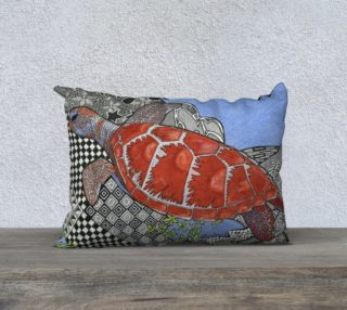 The Sea Turtle Pillow preview
