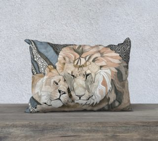 The Lioness Pillow preview