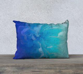 Aperçu de Blue I So Hope 20 x 14 Pillow Case