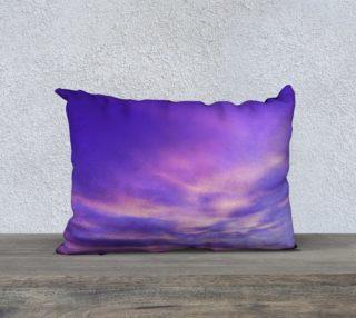 20x14 Purple Sunrise Pillow Case preview