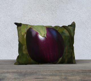 Purple Eggplant Pillow Case 20x14 preview