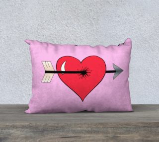 Struck by Cupid's Arrow Pillow Case - 20 preview