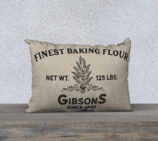 Vintage Flour-Horizontal Pillow preview