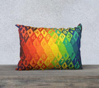 Rainbow Warrior pillow aperçu
