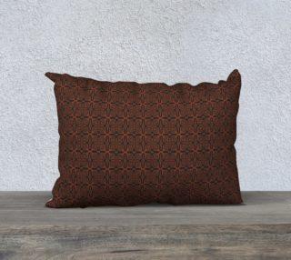 Fire Maze Tile 20 x 14 Pillow preview