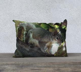 20X14 Color Muse  Woodland Wanderer Art Deco Pillow   preview