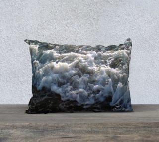 20x14  Color Muse  An Ocean Passion  Art Deco Pillow   aperçu