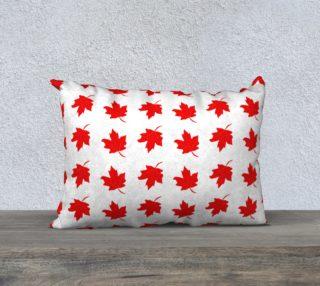 Aperçu de Red Maple Leaf Pillow