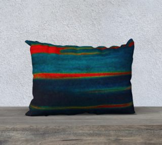 Meteor Trails Pillow 20x14 preview