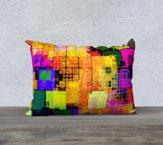 Aperçu de Colorblock Abstract Pillow