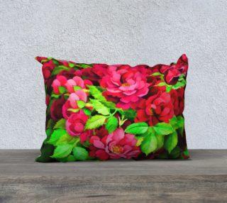 Aperçu de Floral Rose Pillow 4